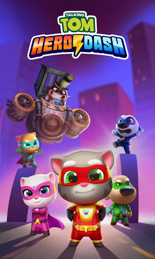 Game Talking Tom Hero Dash Mod